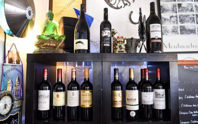 Beau choix de vins à prix doux